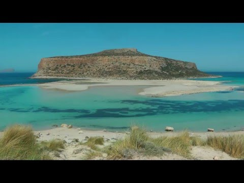 GREECE Balos beach and Elafonisi beach, Crete (hd-video)