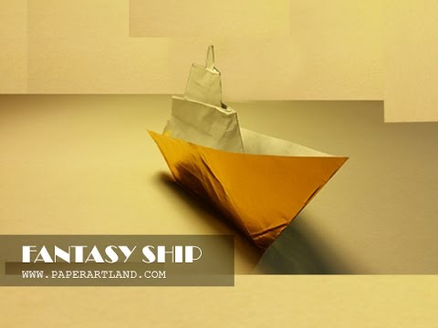 Origami For Kids How To Make An Boat That Floats On Water