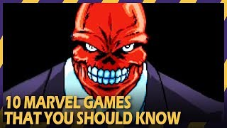 10 Historic Marvel Games that you should know