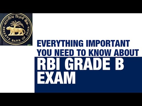 Everything you need to know about RBI Grade B Examination [Banking Exam Preparation]
