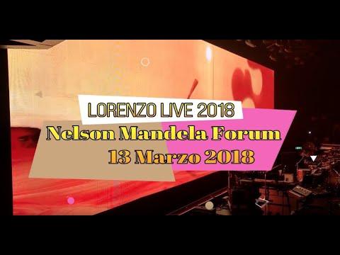 Lorenzo Live 2018 Firenze 13.03.18 Nelson Mandela Forum