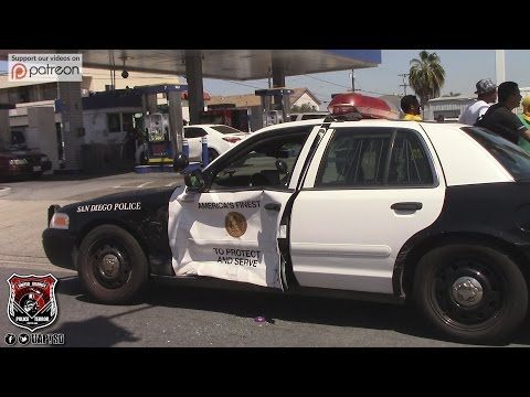 Copwatch | Officer Involved Traffic Collision