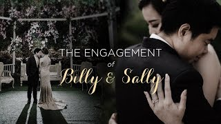 We Are OFFICIALLY ENGAGED! - The ENGAGEMENT of Billy and Sally