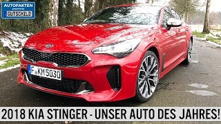 2018 Kia Stinger 2 Liter Turbo Fahrbericht Test Autofakten powered by Gutschild
