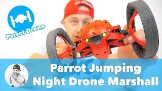Neuvěříte, co tento SKÁKACÍ DRON 🚘 všechno umí!!! (Parrot Jumping Night Drone Marshall)