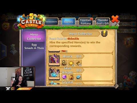 Does ASURA Exist 50000 For Hero Collector IOS Castle Clash