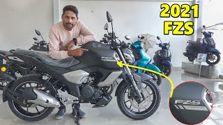 2021 FZS V3 Bs6 New Updated Model New Price Mileage All Change Full Details In Hindi