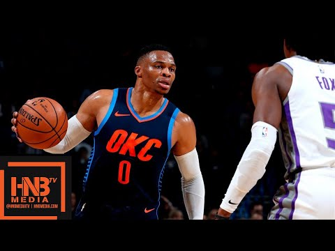 Oklahoma City Thunder vs Sacramento Kings Full Game Highlights | 10.21.2018, NBA Season