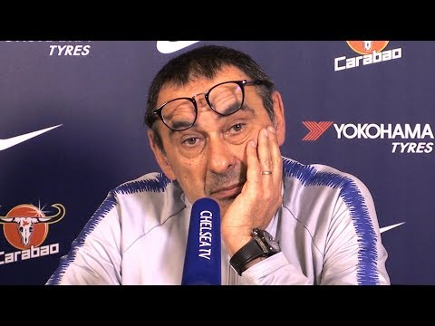 Maurizio Sarri Full Pre-Match Press Conference - Fulham v Chelsea - Premier League
