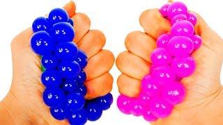 Ucz się kolorów razem z Squishy piłkami dla niemowląt i małych dzieci