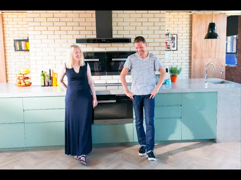 A kitchen inspired by three of the country's very best chefs