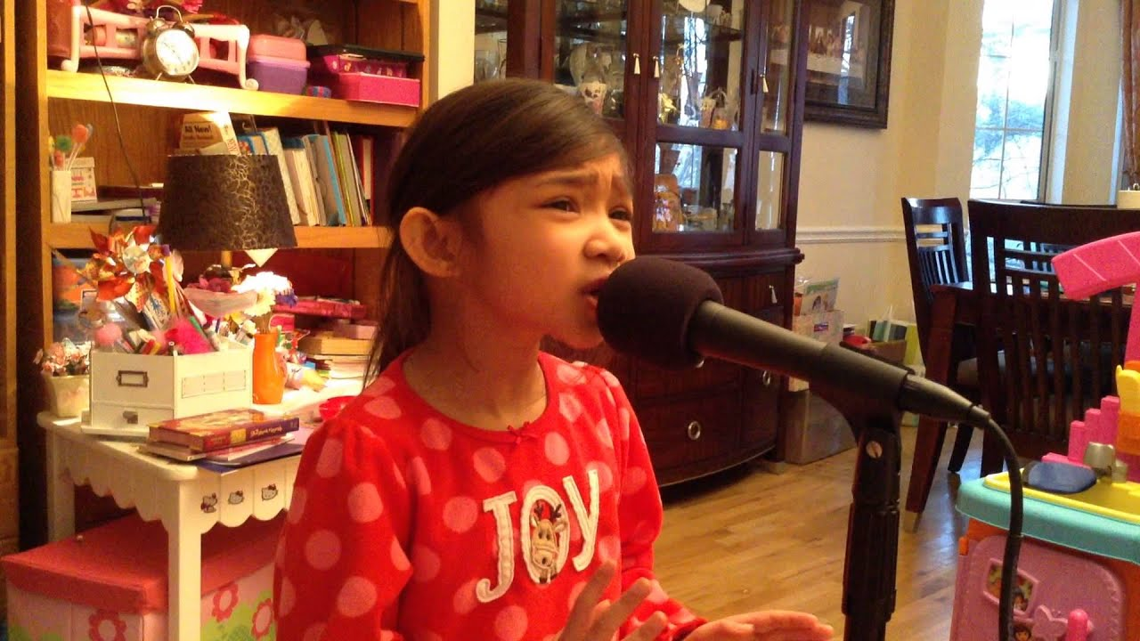 6 Yr Old Singing Singing Hero (Mariah Carey) - Angelica ...