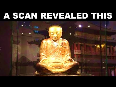 This Ancient Buddha Statue Has Been Holding A Secret For Over 1,000 Years
