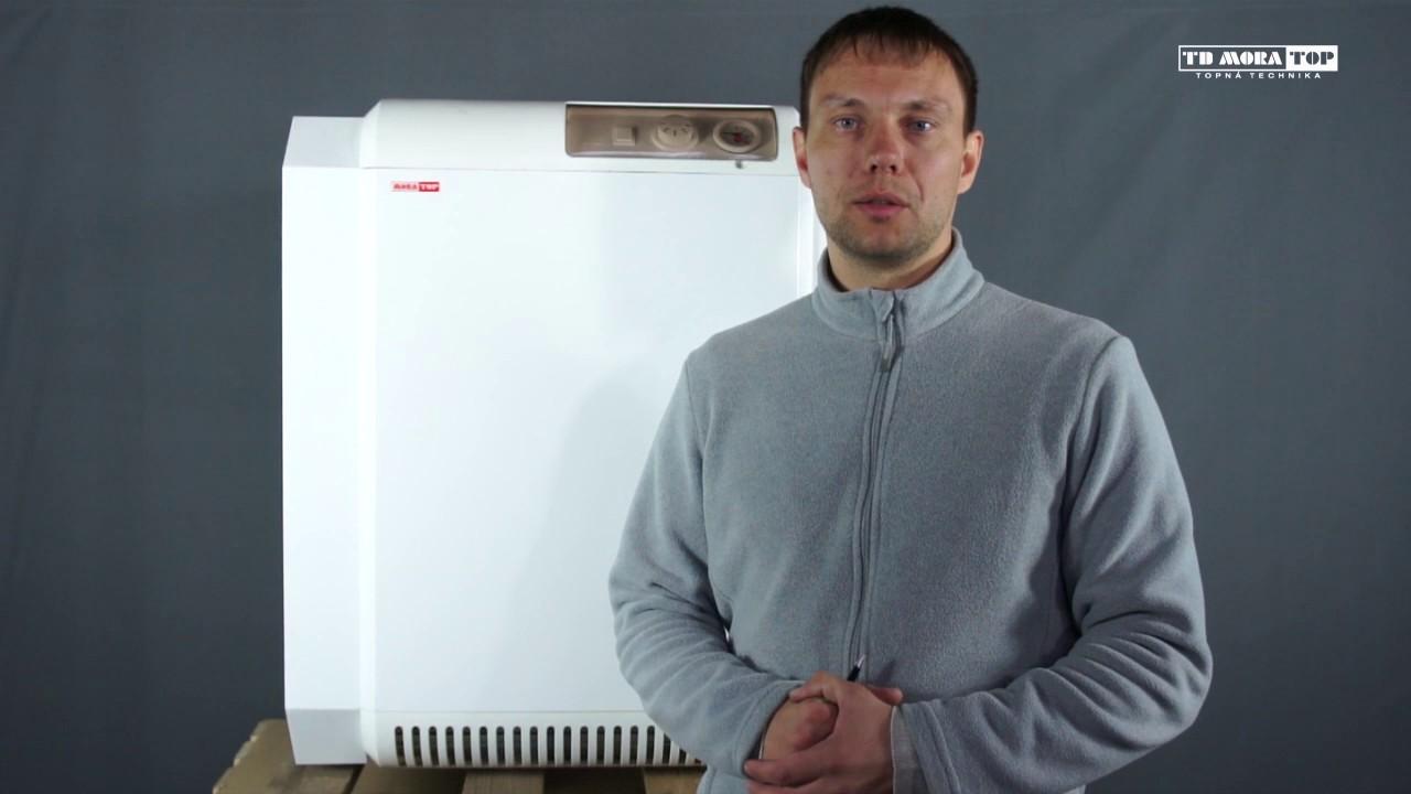 Газовый напольный котел Protherm Медведь KLOM - YouTube