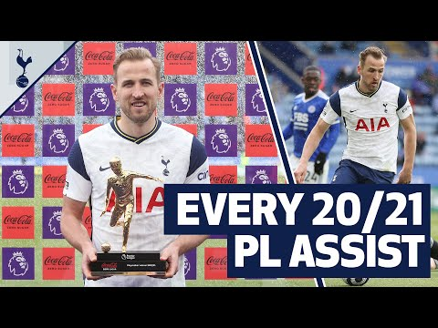 Playmaker of the Year! ✨ EVERY 2020/21 Harry Kane Premier League assist!