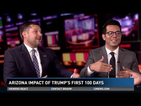 How Trump's first 100 days played out in Arizona