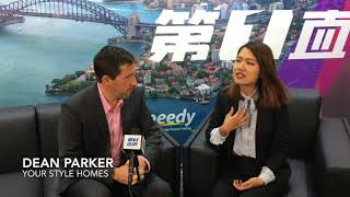 Dean Parker, Managing Director of Your Style Homes at Australian Property Expo