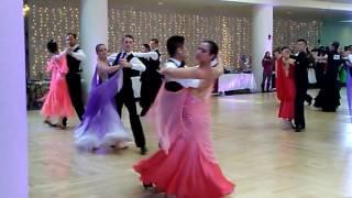 Harvard Invitational Ballroom Dance Competition 2017 Tango 1