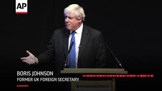 """UK's Johnson calls proposed Brexit deal a """"betrayal"""" of British interests"""