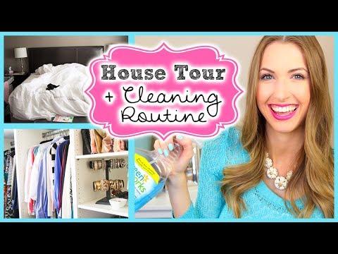 Mini House Tour & My Cleaning Routine!! || #SPRINGFORWARD Day 1!