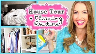Mini House Tour & My Cleaning Routine!! || #SPRINGFORWARD Day 1!