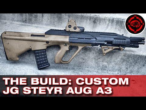 The Build: JG Steyr AUG A3 (Custom Airsoft Gun)
