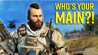 What Your Call Of Duty Black Ops 4 Main Says About You!? | The Leaderboard