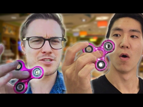 Thumbnail: We Tried Fidget Spinners For The First Time