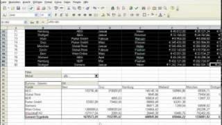 Calc: Der Datenpilot - OpenOffice Episode 37