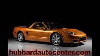 2002 Acura NSX Imola Orange
