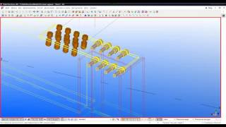 Tekla Structures  Урок 4  Создание соединения балки с колонной  Узел 2