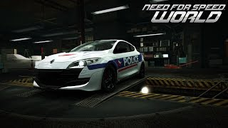 Need for Speed World Renault Mégane RS Police Nationale