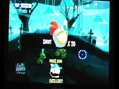 Rayman Raving Rabbids / RRR TV Party  Cult Movies  Night of The Zombids - 7am ~ 9am Full Gameplay |