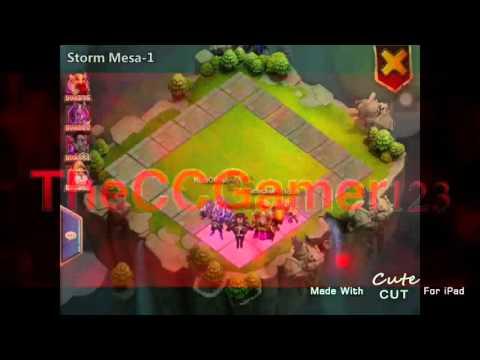Castle Clash: Storm Mesa 1