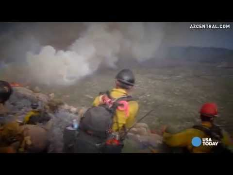 New videos show chaos around Yarnell Hill Fire deaths