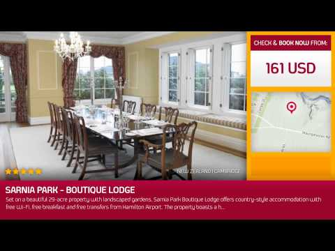 Sarnia Park - Boutique Lodge (Cambridge, New Zealand)