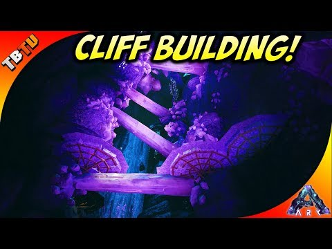 THE BEST BASE LOCATION IN ABERRATION! ARK CLIFF PLATFORM BUILDING! Ark Aberration DLC Gameplay E4