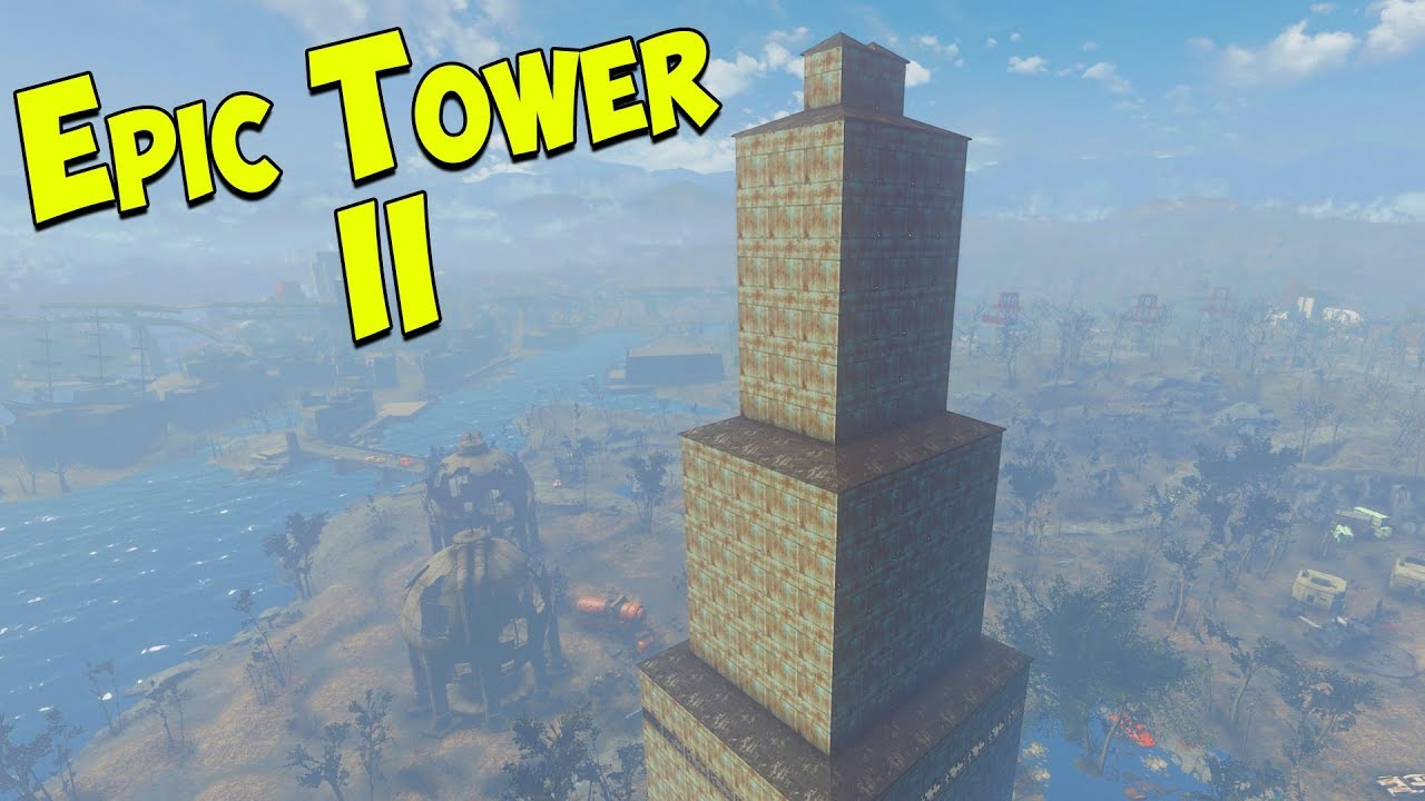 Fallout 4 - Epic Tower