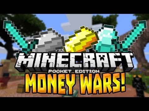 MONEY WARS in MCPE 1.0?!! - Brand New Minigame - Minecraft PE (Pocket Edition)