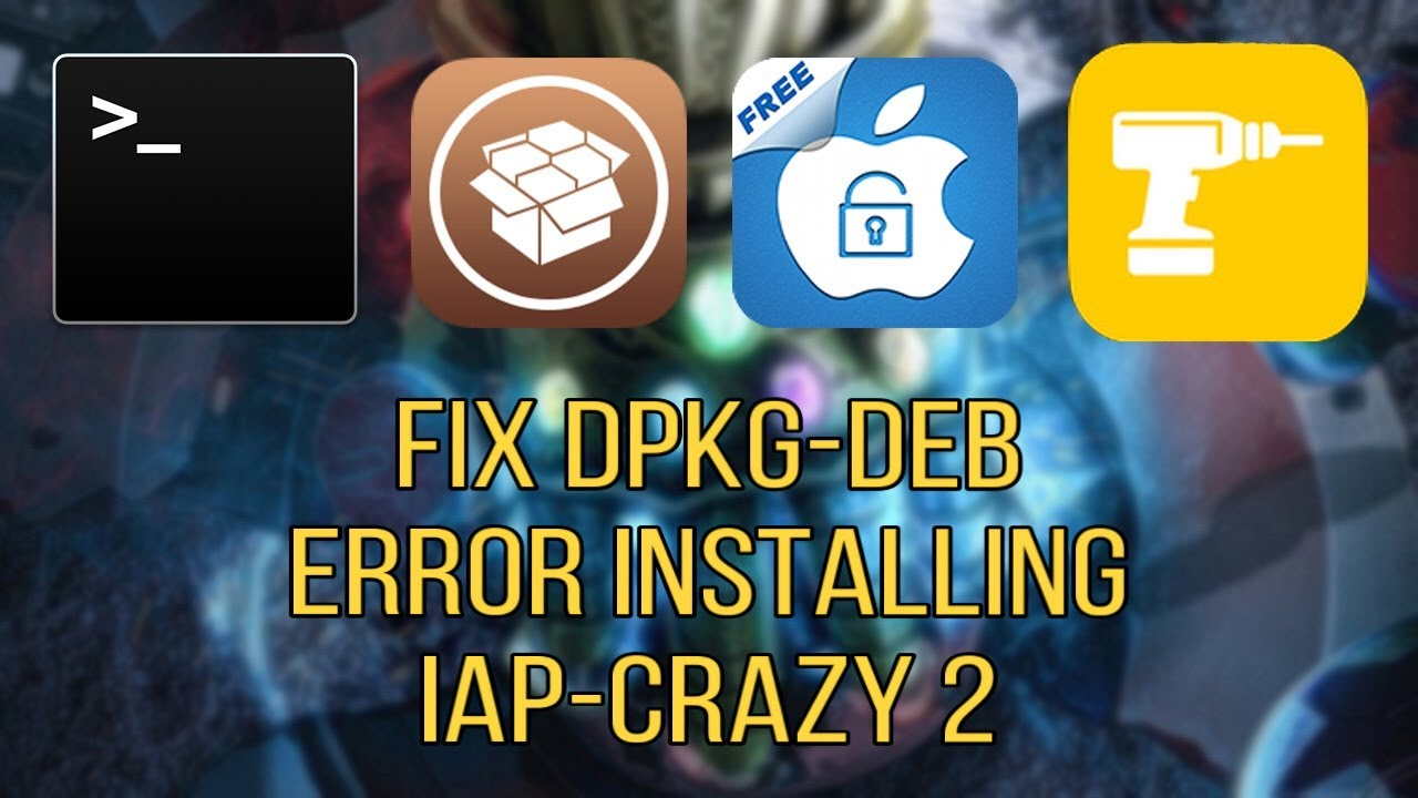 How To Fix dpkg Error on iAPcrazy 2 ON iOS! (Outdated)!!