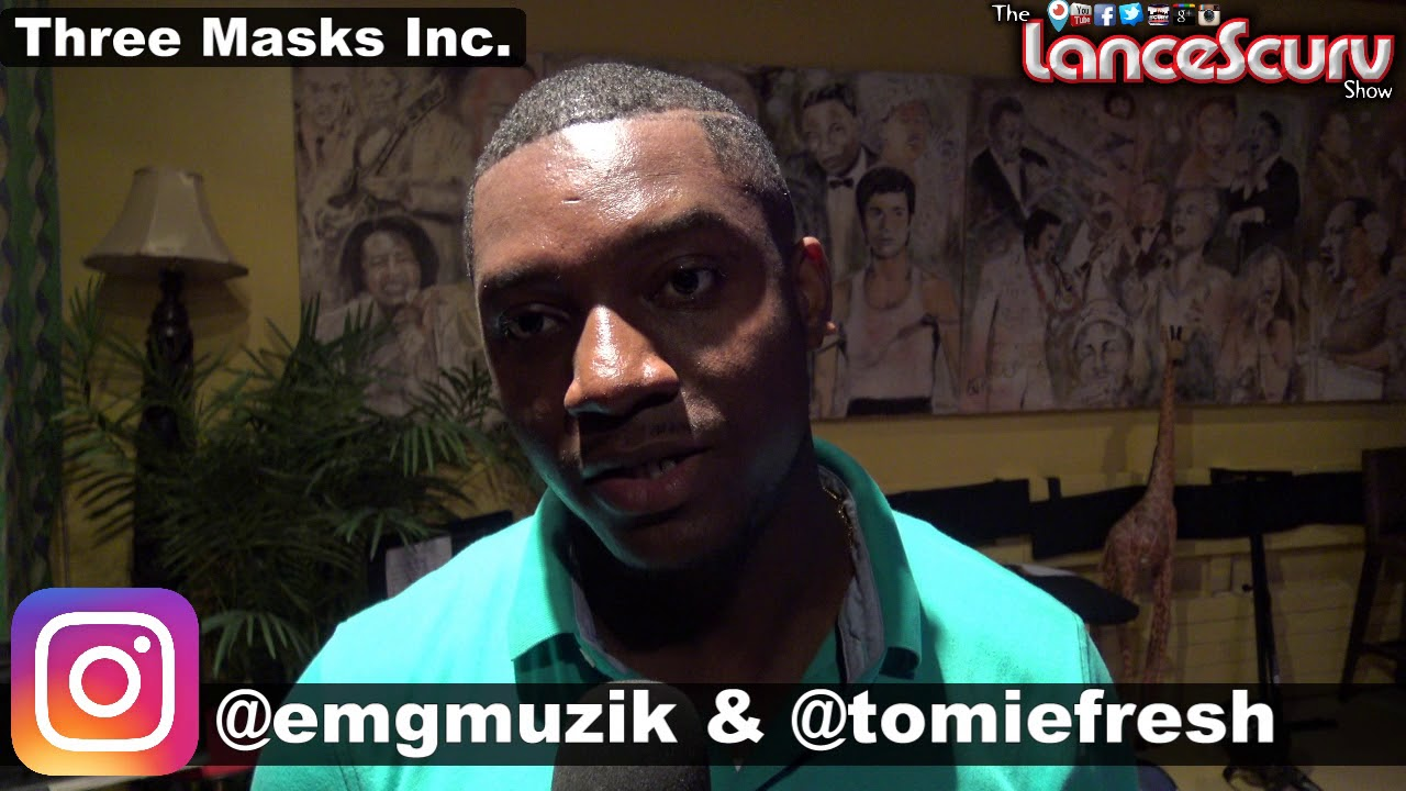 Tomie Fresh Of EMG Muzik Thanks The Fans After The Eve Kawadza Performance! - The LanceScurv Show