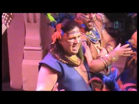 "Comparsa de Isla Cristina ""Amazonia"" Preliminares Carnaval de Huelva 2018 - CarnavalDeIsla"