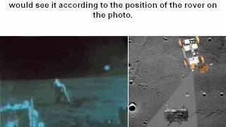 The changing angle of view of the rover