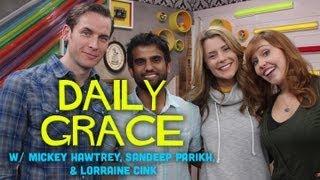 Lorraine Cink, Sandeep Parikh, and Mickey Hawtrey with DailyGrace LIVE! - 10/9/12 (Full Ep)