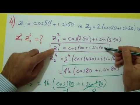 Karmaşık Sayılar Soru Çözümü Şenol Hoca Matematik