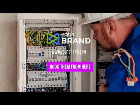 Electrician Video Ad Template