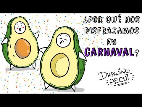 ¿POR QUÉ NOS DISFRAZAMOS EN CARNAVAL? | Draw My Life