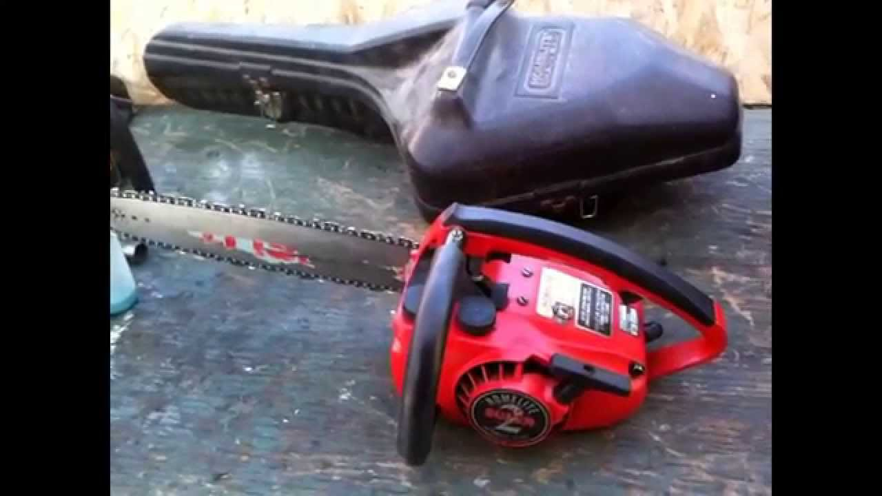 Homelite Super 2 Chainsaw And Case Saw Find