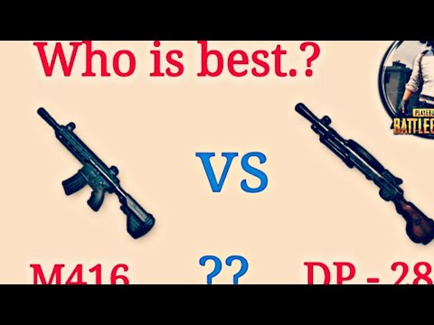 M416 Vs AKM Vs Dp-28 || Gun With The Lowest Recoil And Highest Damage Only Conqueror Use