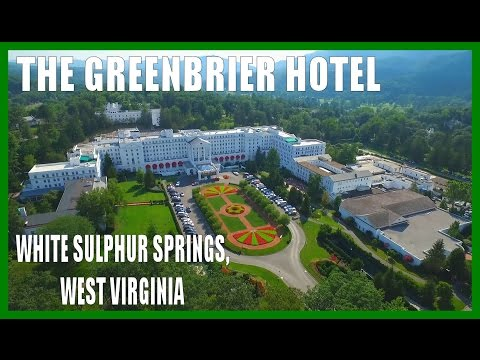 The Greenbrier Hotel & Spa - White Sulphur Springs, West Virginia - DRONE OHIO